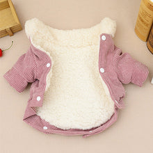 Pink Dog Clothes Winter French Bulldog Dog Clothes For Small Dogs Warm Outfit Pugs Clothing For Chihuahua Clothes Roupa Pet 40S2
