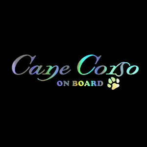 Cane Corso On Board Sticker