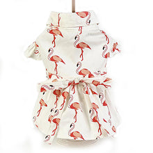 Flamingo Patterned Dress