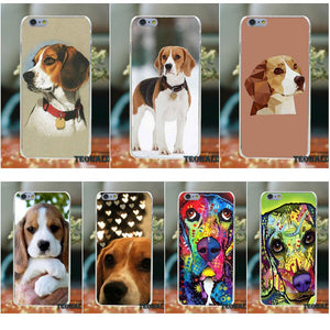 Beagle Soft Phone Case For iPhone