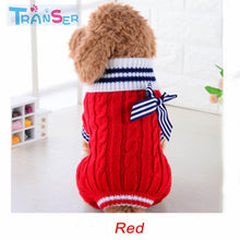 Transer Hot Sale Pet Dog coat clothes Pet Products Soft Sweater Small Dogs Winter/Autumn Sweaters Rompers Dog Clothes 18Jan25