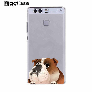 English Bulldog Soft Cover Phone Case For Huawei
