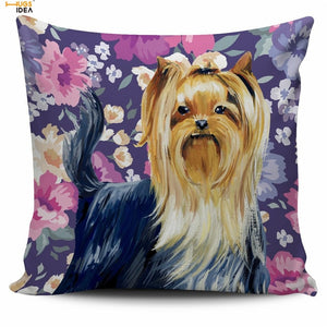 Yorkshire Terrier Cozy Pillow Cover