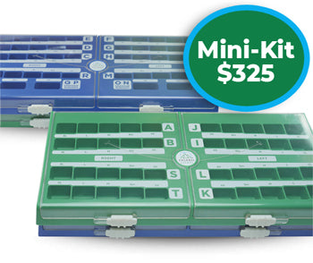 Mini Dental Crowns Kit $325