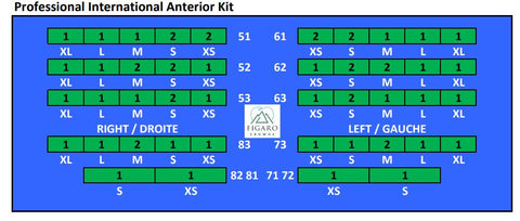 FIGARO CROWNS ANTERIOR KIT - INTERNATIONAL