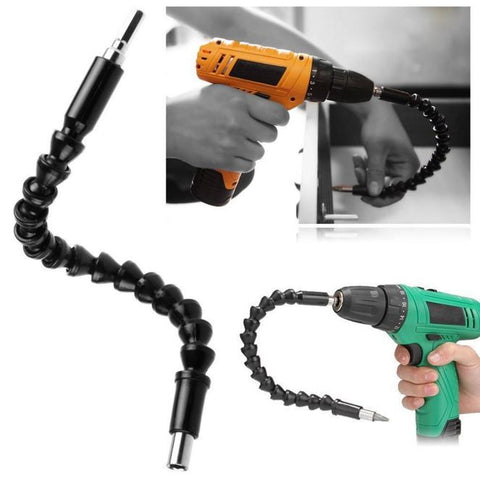 1pcs electric drill screwdriver bit multifunctional universal Snake flexible