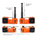 3 functions  electric auto lifting hydraulic  jack  for sedan lift