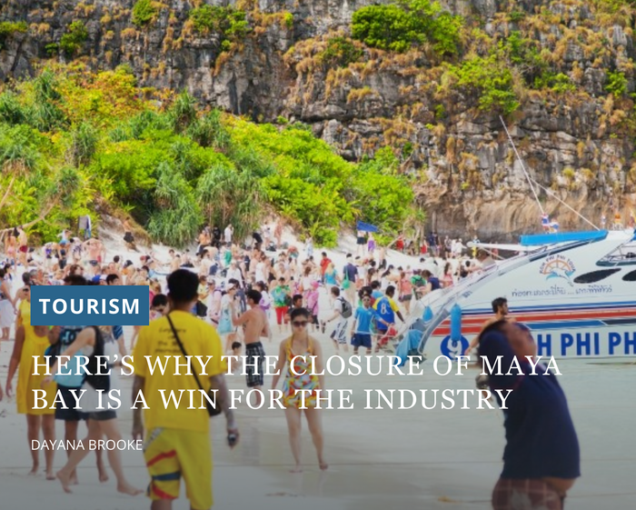 Travel Weekly AU - Closure of Maya Bay a win for sustainable tourism