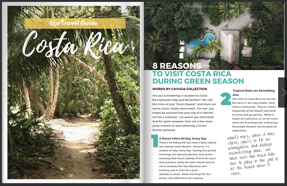 The Sustainable Traveller Magazine | Issue 01 | October 2019