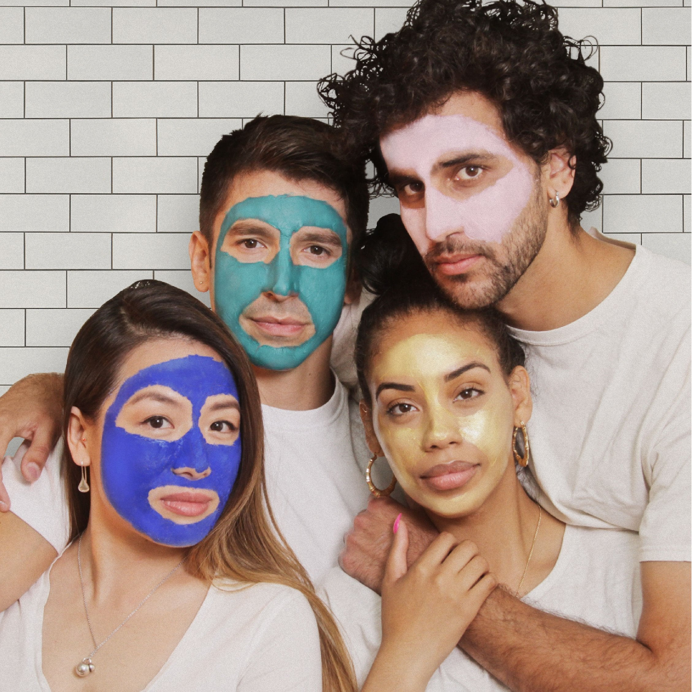 SELF LOVE FACE MASK SET | Painted by Uncutt (#015)
