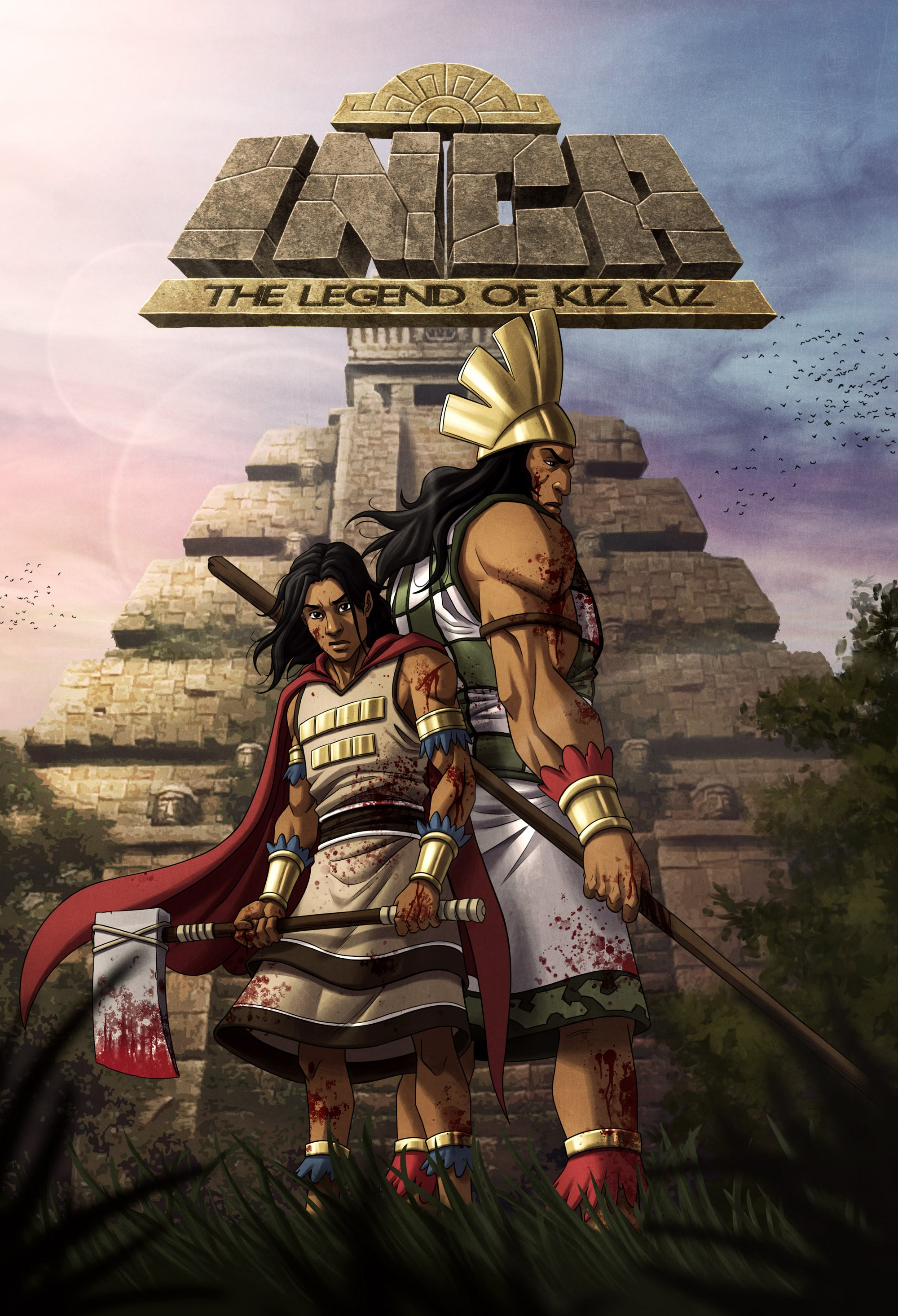 [New] Inca, the Legend of Kiz Kiz - YA Manga