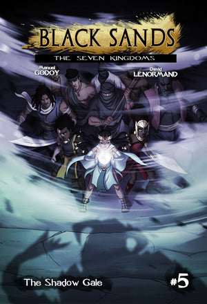 Black Sands, Ultimate Hardcover 2 - (issue 4, 5, and 6)