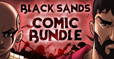 Black Sands Comic Bundle (Signed)
