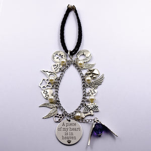 Dog Memorial Multi-Charms Keepsake
