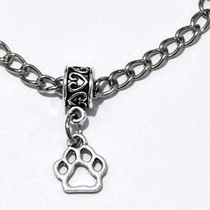 Pet Paw Bracelet Stainless Steel link Chain