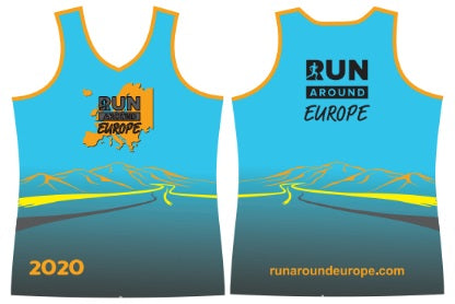 2020 Members Vest - Run around Europe