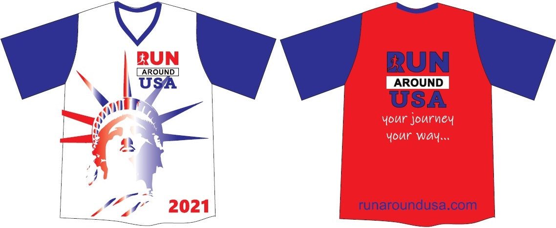 2021 Members Shirt - Run Around USA