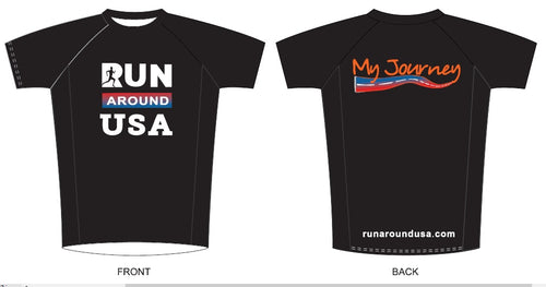 Running T-shirt - Run Around USA