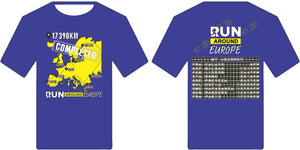 Finishers Shirt - Run around Europe