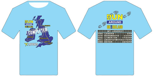 Finishers Shirt - Run UK and Ireland