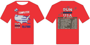 Finishers Shirt - Run around USA
