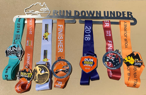 Medal Rack - Run Down Under
