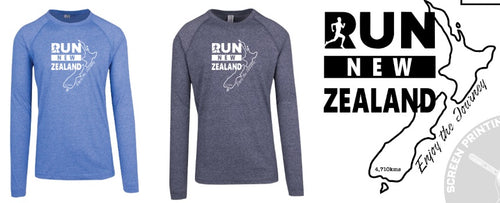 Long Sleeve top - Run New Zealand