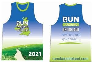2021 Members Vest - Run UK and Ireland