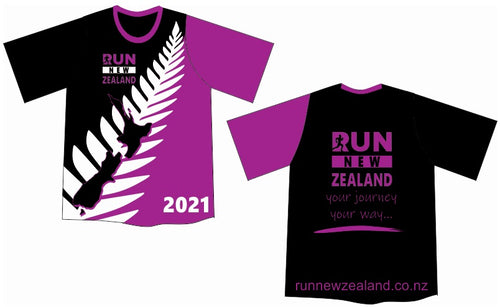 2021 Members Shirt - Run New Zealand