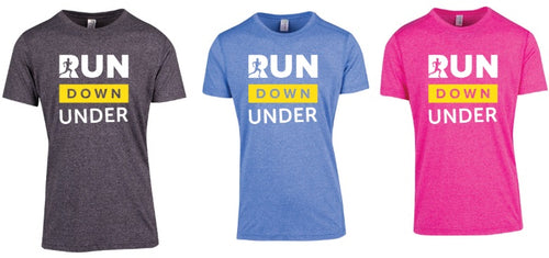 T-shirt Range - Run Down Under