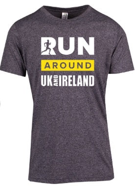 T-shirt range - Run UK and Ireland