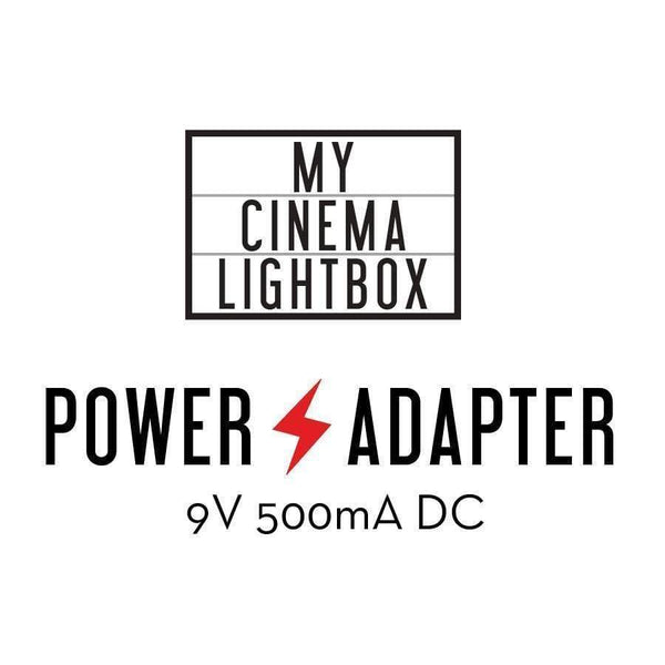 9V DC Adapter (for the Vintage Lightbox) - Amped & Co®