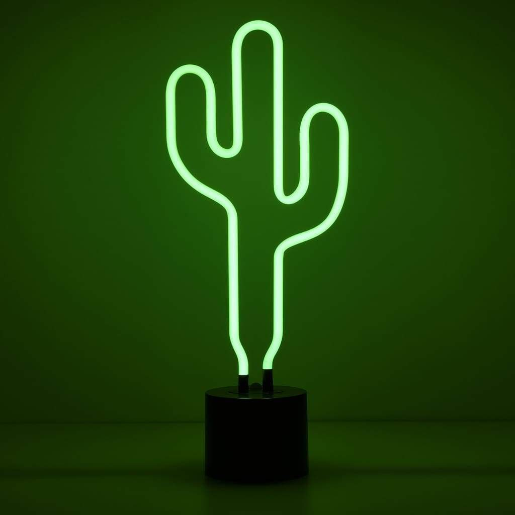 Cactus Neon Desk Light - Amped & Co®