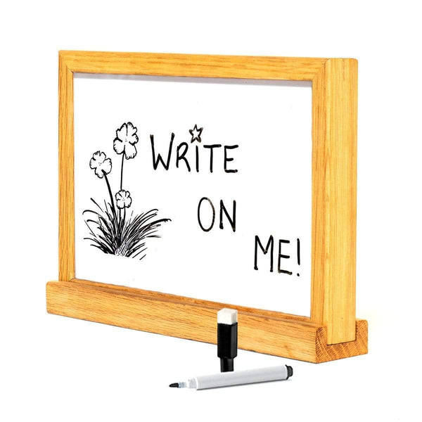 Double-Sided Black Felt Letterboard + Whiteboard - Amped & Co®