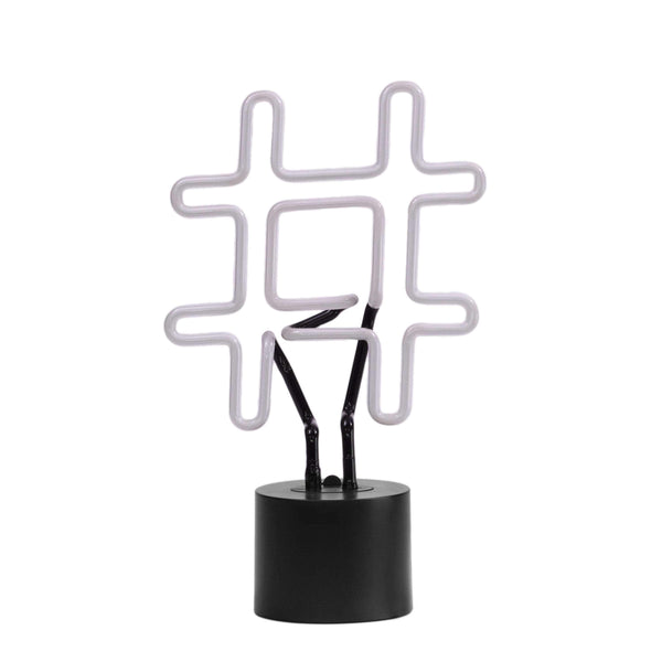 Hashtag Neon Desk Light - Amped & Co®