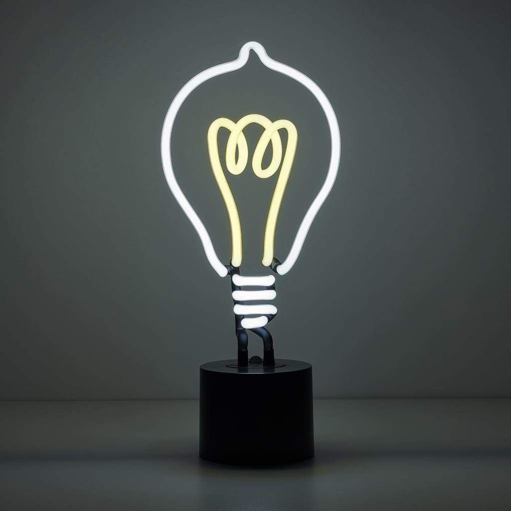 Lightbulb Neon Desk Light - Amped & Co®
