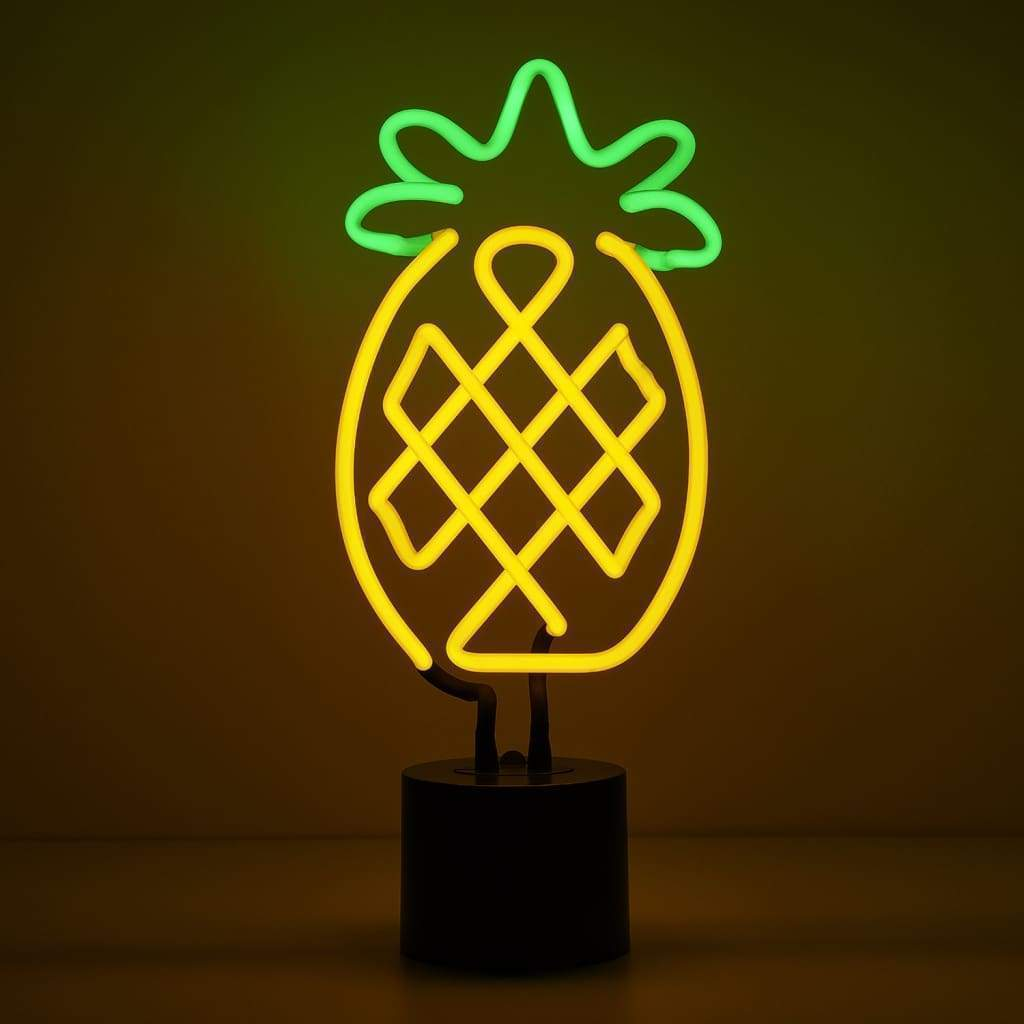 Pineapple Neon Desk Light - Amped & Co®