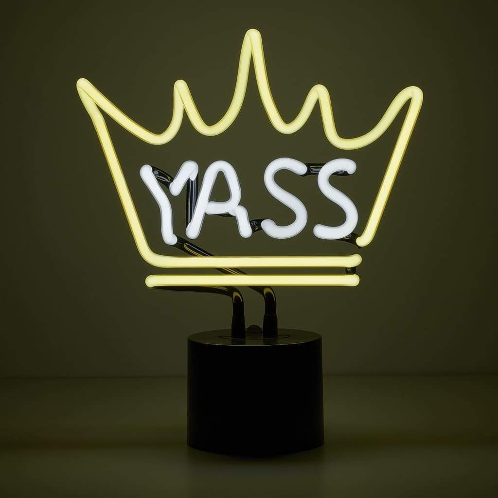 Yass Queen Neon Desk Light - Amped & Co®