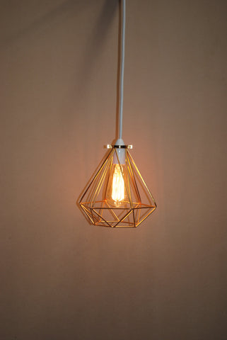 Geo Pendant | Copper