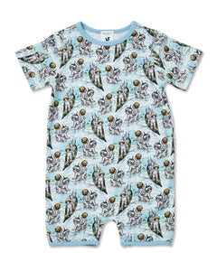 WALNUT  MAY GIBBS RIVER ONESIE SURFS UP