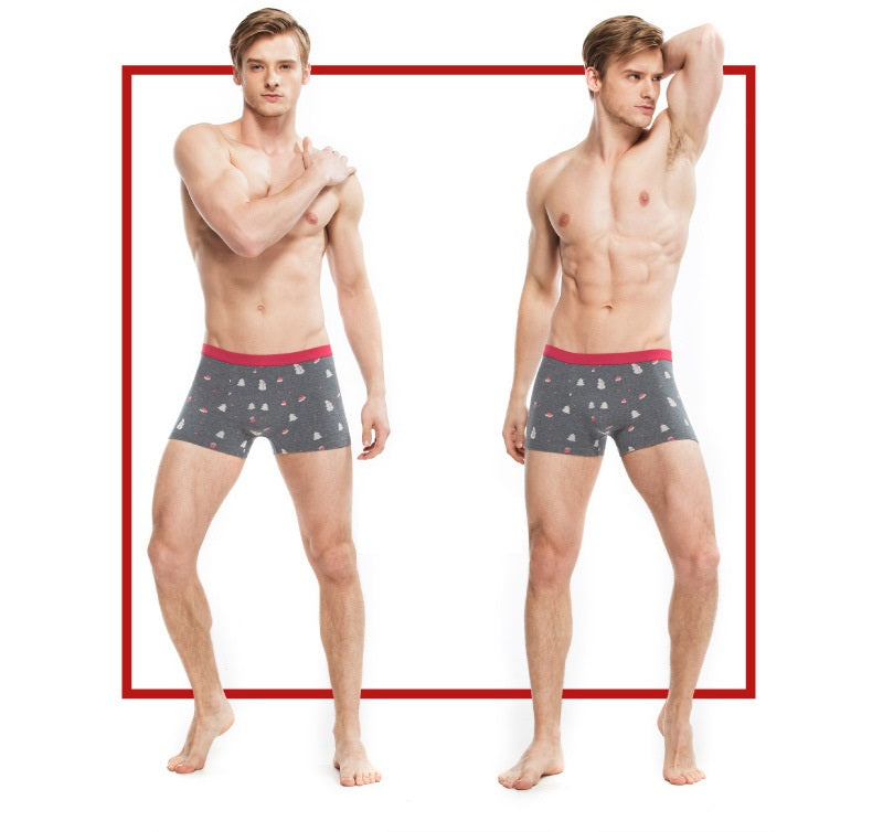 bdd6588aeb6 ... Couples Matching Underwear Winter Holiday Design