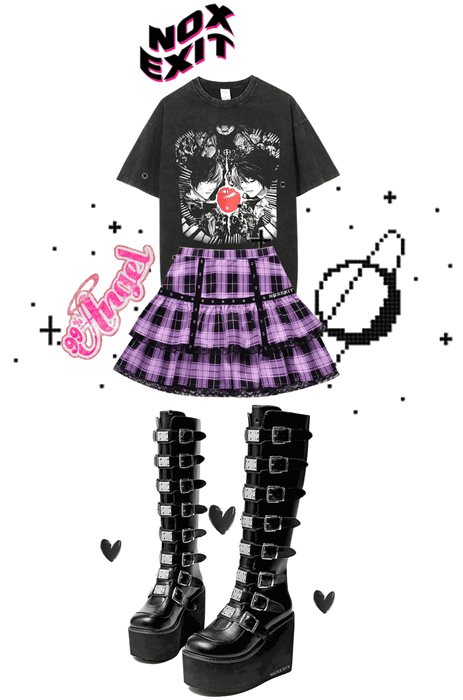 BUY EMO SCENE CORE MYSPACE SKIRT GOTH LACE CUTE KAWAII JAPANESE BABY OUTFITS