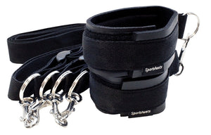 Sports Cuffs and Tethers Set - Black SS440-01