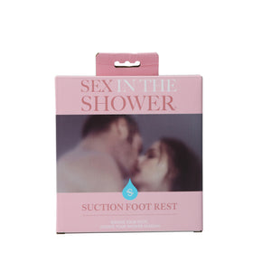 Shower Sex Single Locking Suction Foot Rest