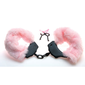 Sex Kitten Fur Handcuffs