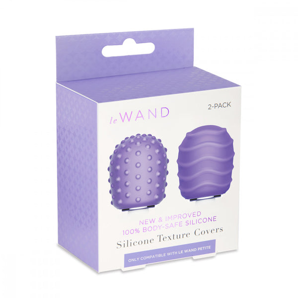 Le Wand Petite Silicone Covers 2-pack box