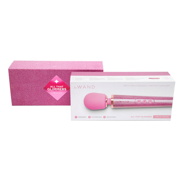 All that Glimmers Pink Vibrating Wand