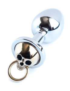 Skull Face Stainless Steel Butt Plug