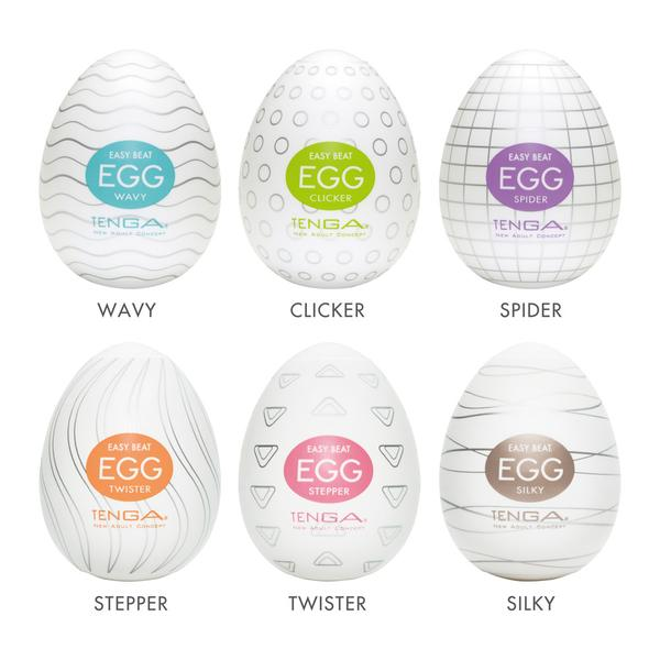 Egg Masturbator Six Pack by Tenga