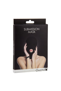 Submission Mask in Black